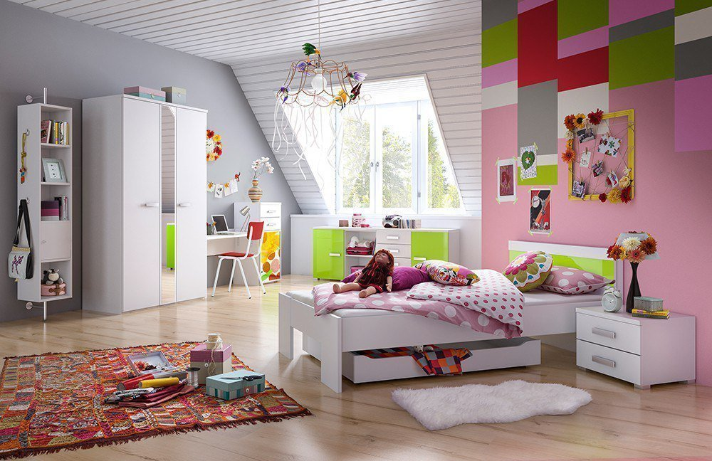 r hr jugendzimmer gr n m bel letz ihr online shop. Black Bedroom Furniture Sets. Home Design Ideas