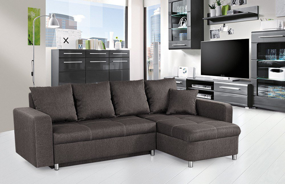 jockenh fer lyon ecksofa braun m bel letz ihr online shop. Black Bedroom Furniture Sets. Home Design Ideas