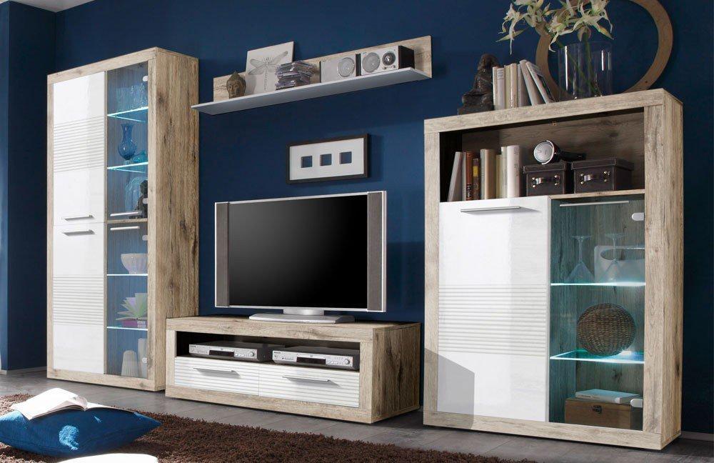 wohnwand kolibri katherina 89 925 d9 von hbz meble m bel letz ihr online shop. Black Bedroom Furniture Sets. Home Design Ideas