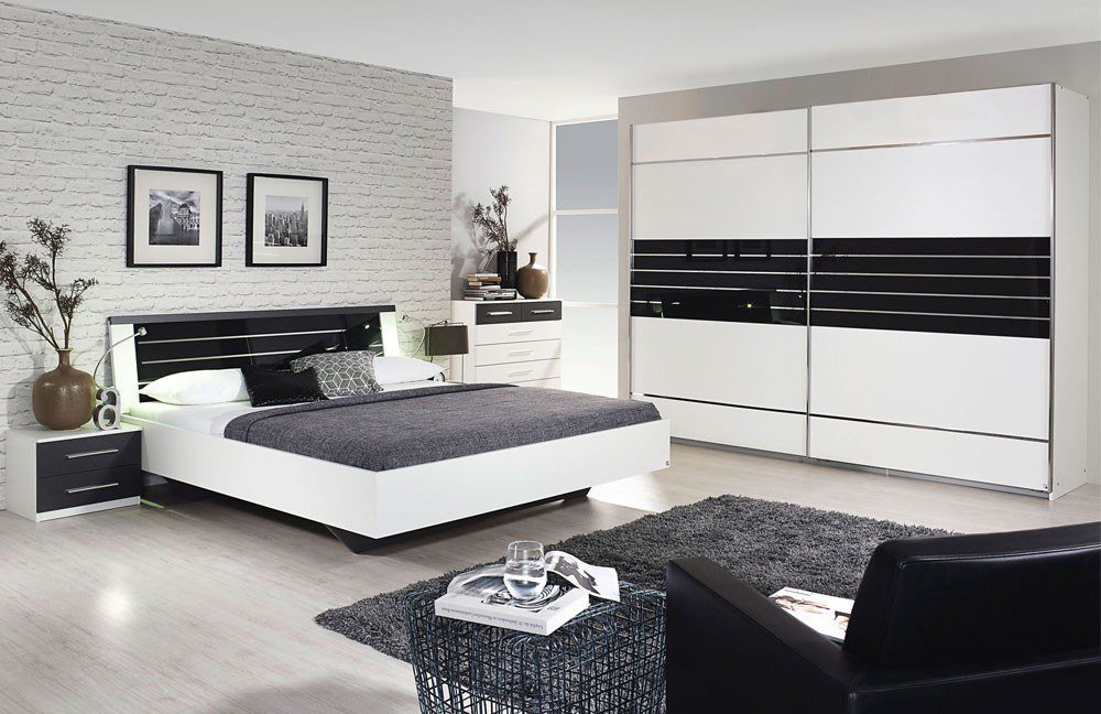 rauch nienburg schlafzimmer wei grau m bel letz ihr. Black Bedroom Furniture Sets. Home Design Ideas
