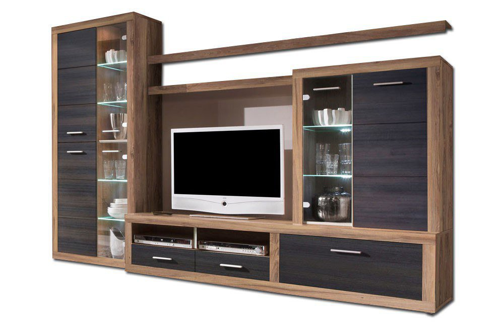 wohnwand can can 5 lisetta 89 532 65 von hbz meble m bel letz ihr online shop. Black Bedroom Furniture Sets. Home Design Ideas
