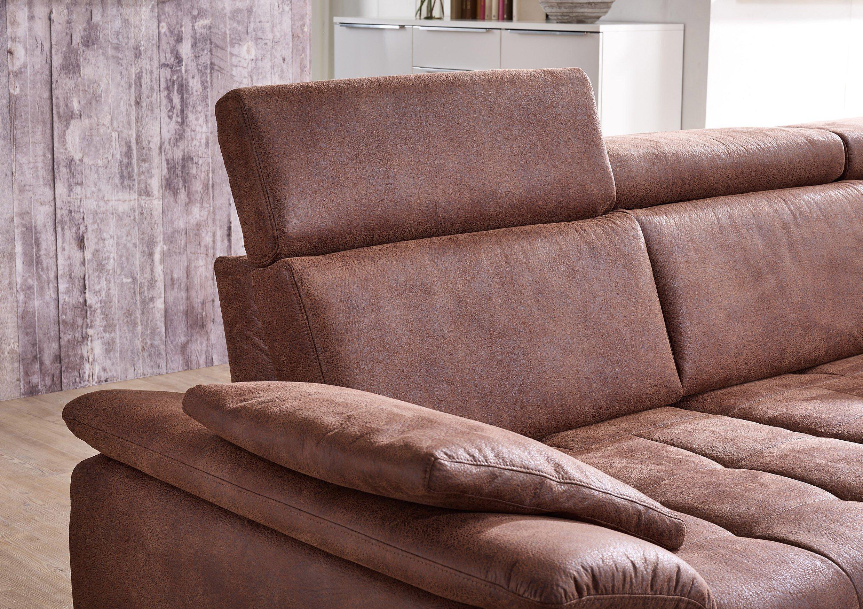 Dietsch Family Relax 5 Eckgarnitur braun   Möbel Letz - Ihr Online ...