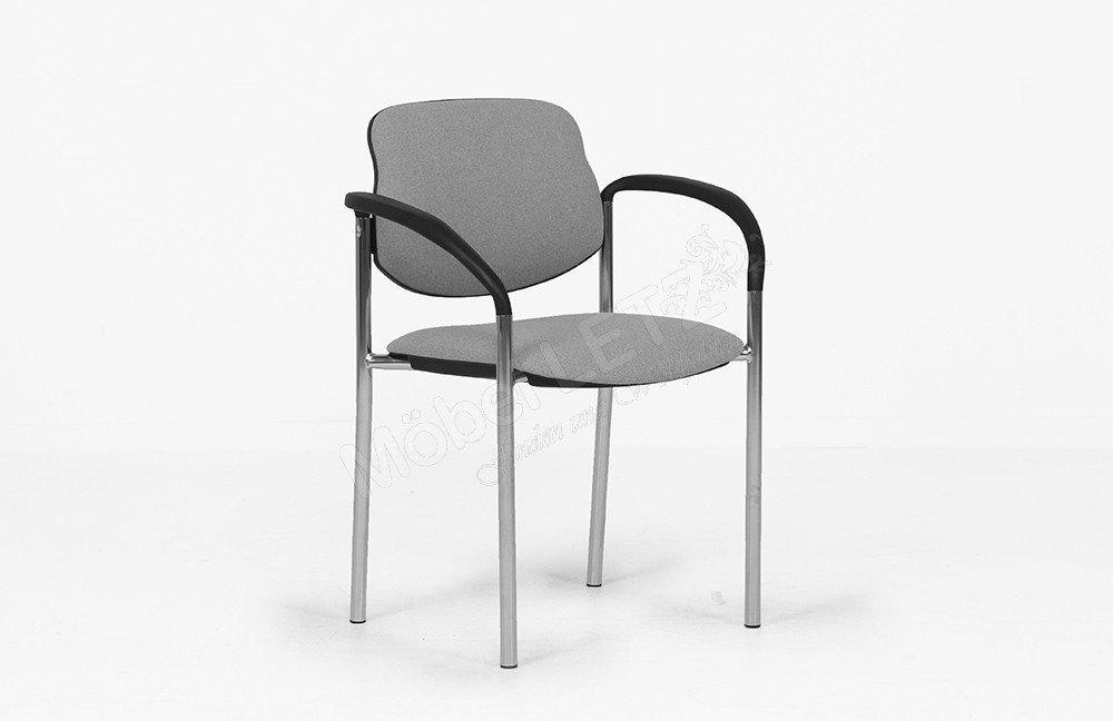 besucherstuhl grau bestseller shop f r m bel und einrichtungen. Black Bedroom Furniture Sets. Home Design Ideas