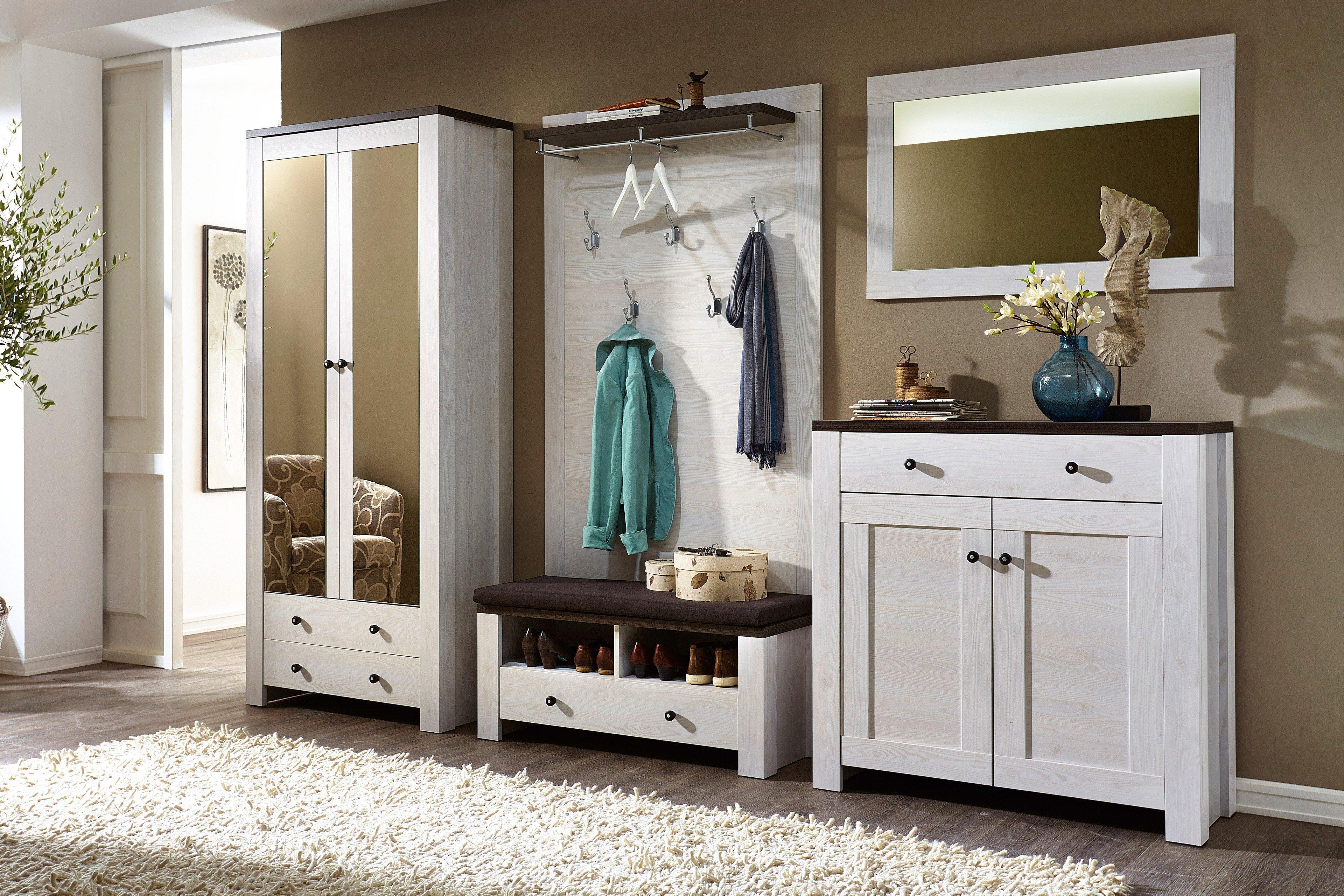 garderobe 4 teilig innostyle antwerpen m bel letz ihr online shop. Black Bedroom Furniture Sets. Home Design Ideas