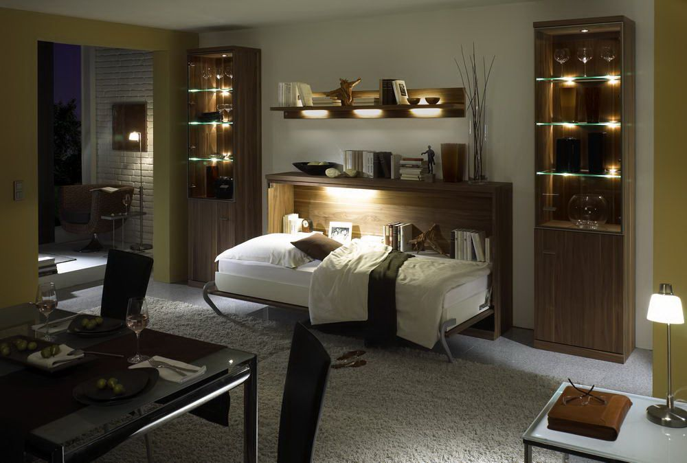 nehl armadi schrankbett nussbaum furnier m bel letz. Black Bedroom Furniture Sets. Home Design Ideas