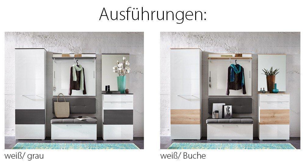 innostyle garderobe reno in wei m bel letz ihr online. Black Bedroom Furniture Sets. Home Design Ideas