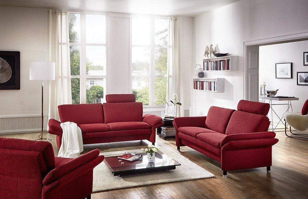 Arco Petit 4190 Sofagruppe bordeaux | Möbel Letz - Ihr Online-Shop