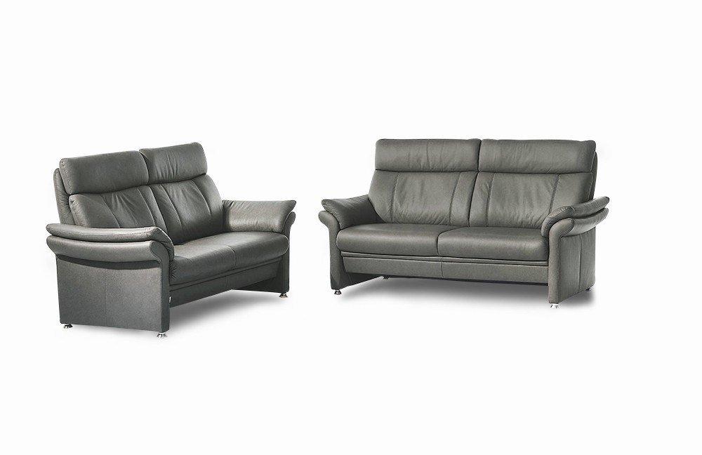Arco Well 3670 3-2-1 Garnitur metallic   Möbel Letz - Ihr Online-Shop