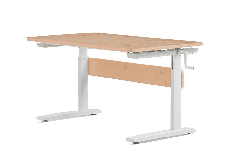 flexa schreibtisch study desk kiefer klarlack m bel letz. Black Bedroom Furniture Sets. Home Design Ideas