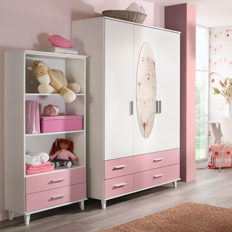 rauch aik extra kinderzimmer wei rosa m bel letz ihr online shop. Black Bedroom Furniture Sets. Home Design Ideas