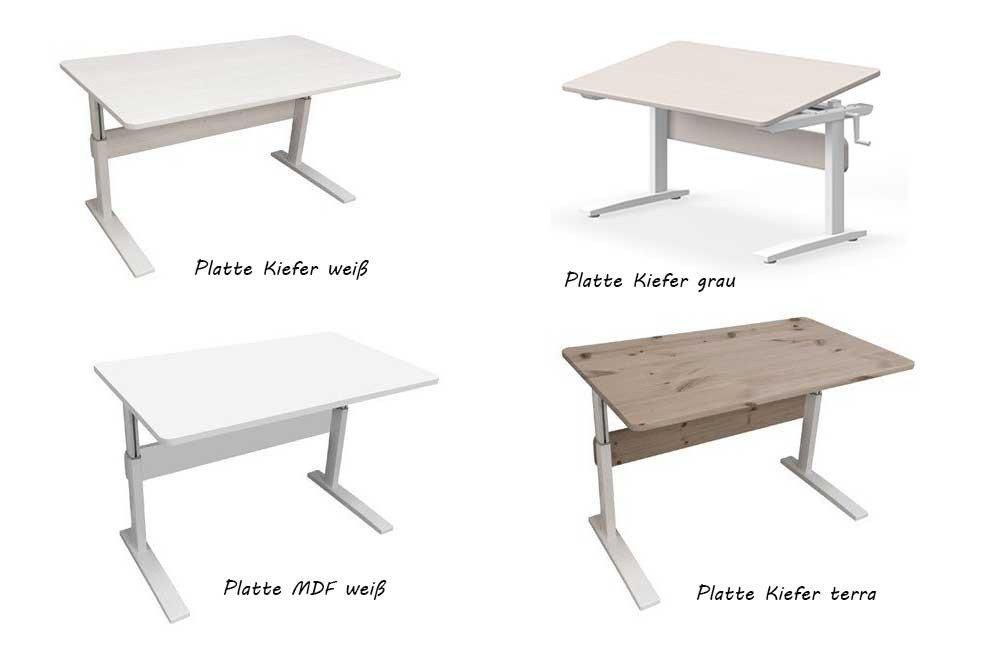flexa neigbarer schreibtisch platte kiefer terra m bel. Black Bedroom Furniture Sets. Home Design Ideas