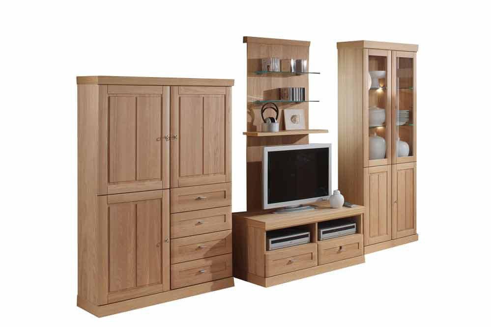 schr der m bel wohnwand heritage v1 eiche natur m bel. Black Bedroom Furniture Sets. Home Design Ideas
