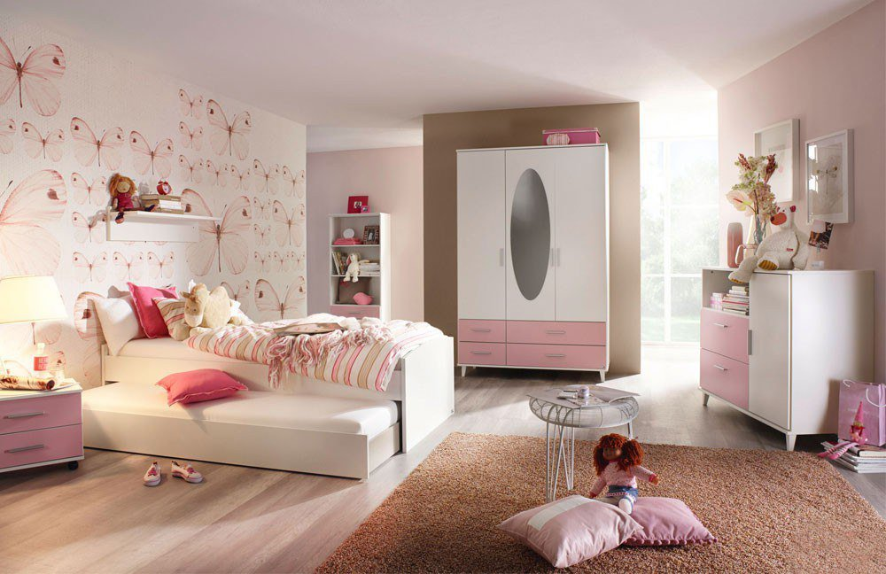 rauch aik extra jugendzimmer wei rosa m bel letz ihr online shop. Black Bedroom Furniture Sets. Home Design Ideas