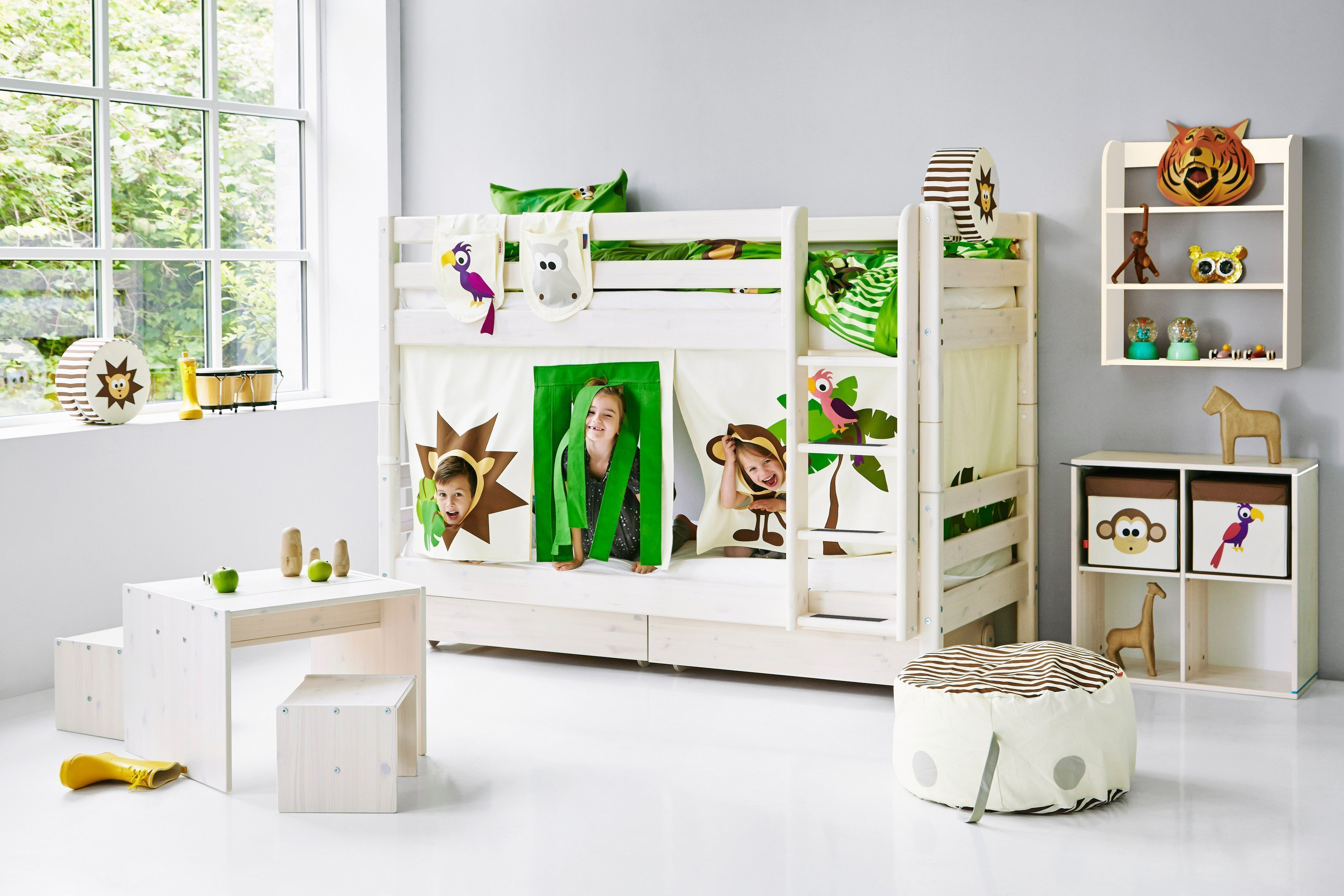 flexa classic doppelstockbett wei kiefer m bel letz ihr online shop. Black Bedroom Furniture Sets. Home Design Ideas