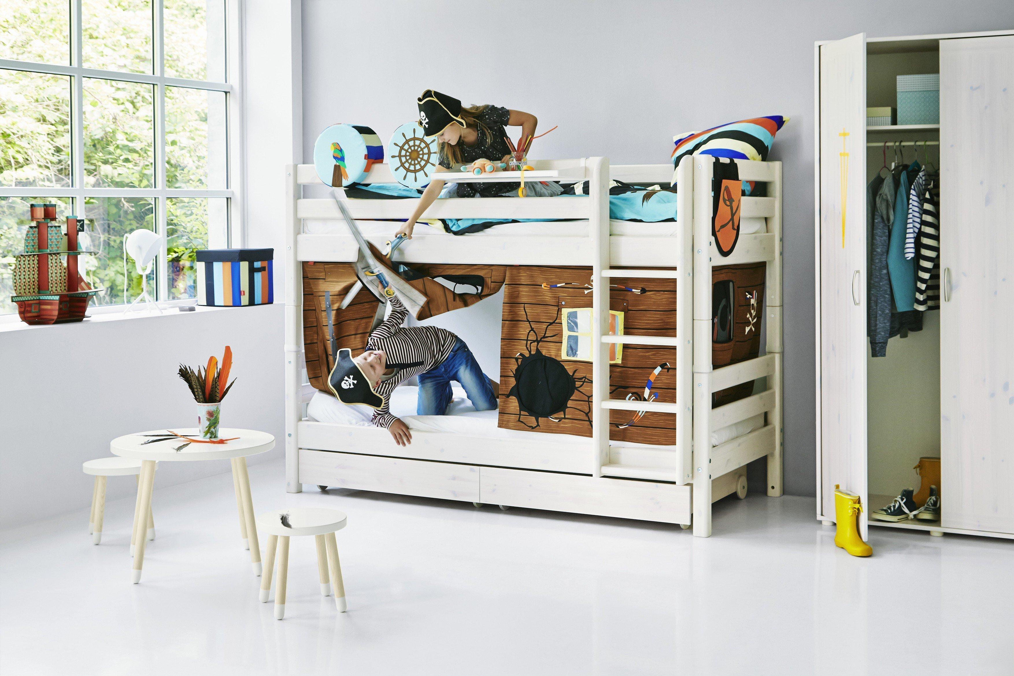 FLEXA Classic Etagenbett Kiefer massiv | Möbel Letz - Ihr Online-Shop