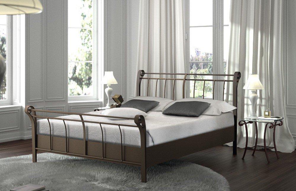 résistub romantico metallbett lack braun | möbel letz - ihr online, Hause deko