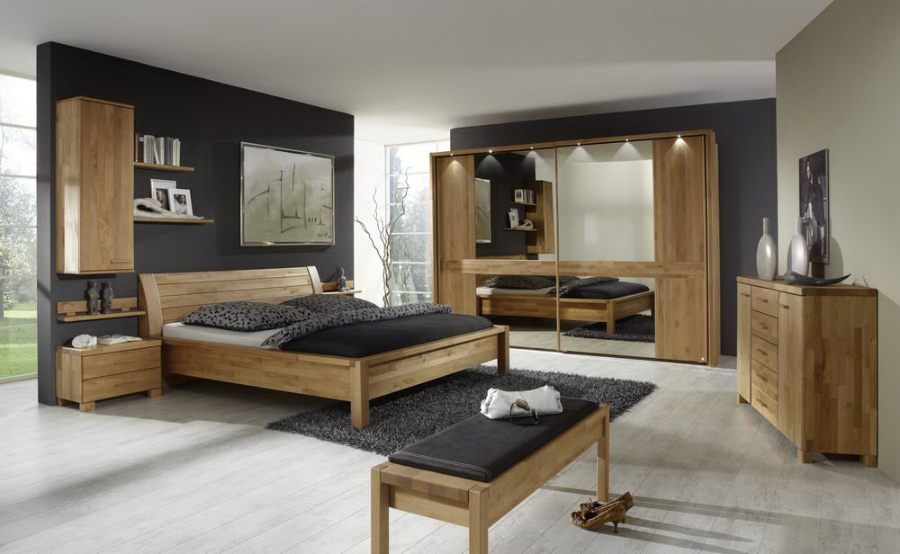 schlafzimmer bergen erle massiv das beste aus wohndesign. Black Bedroom Furniture Sets. Home Design Ideas