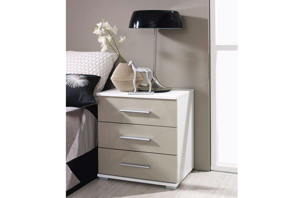 rauch vereno extra nachttisch wei grau m bel letz ihr online shop. Black Bedroom Furniture Sets. Home Design Ideas