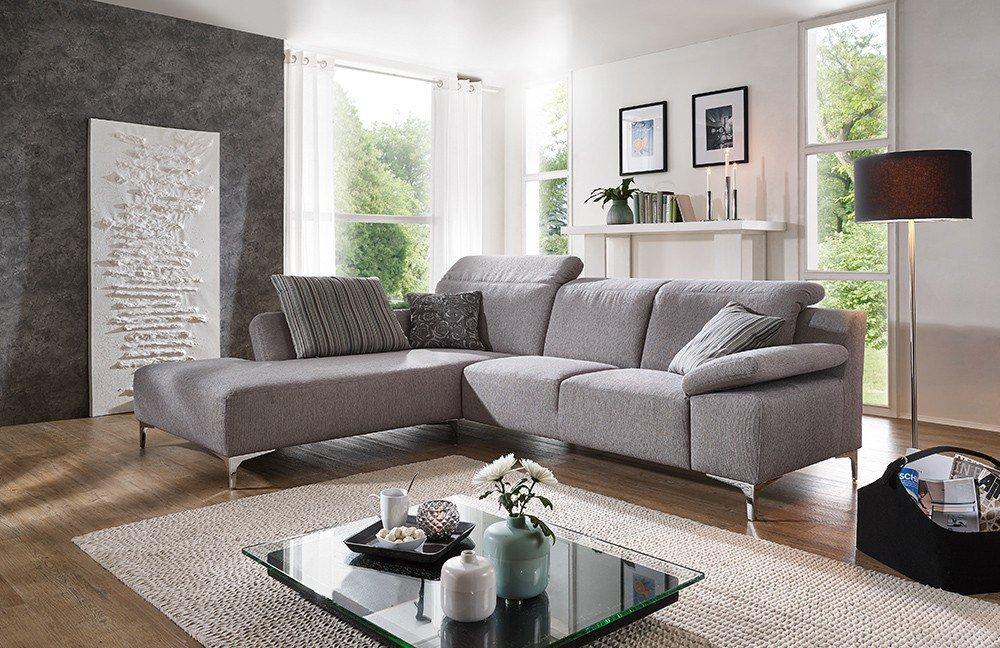 f s polsterm bel 265 durban polstergarnitur grau m bel letz ihr online shop. Black Bedroom Furniture Sets. Home Design Ideas