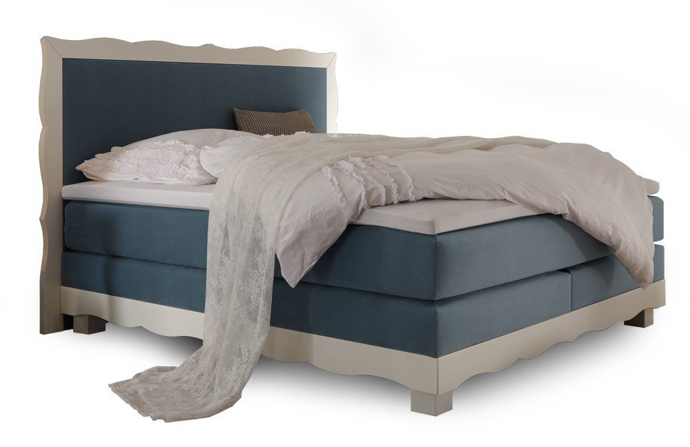 hasena romantic boxspringbett buche wei m bel letz ihr online shop. Black Bedroom Furniture Sets. Home Design Ideas