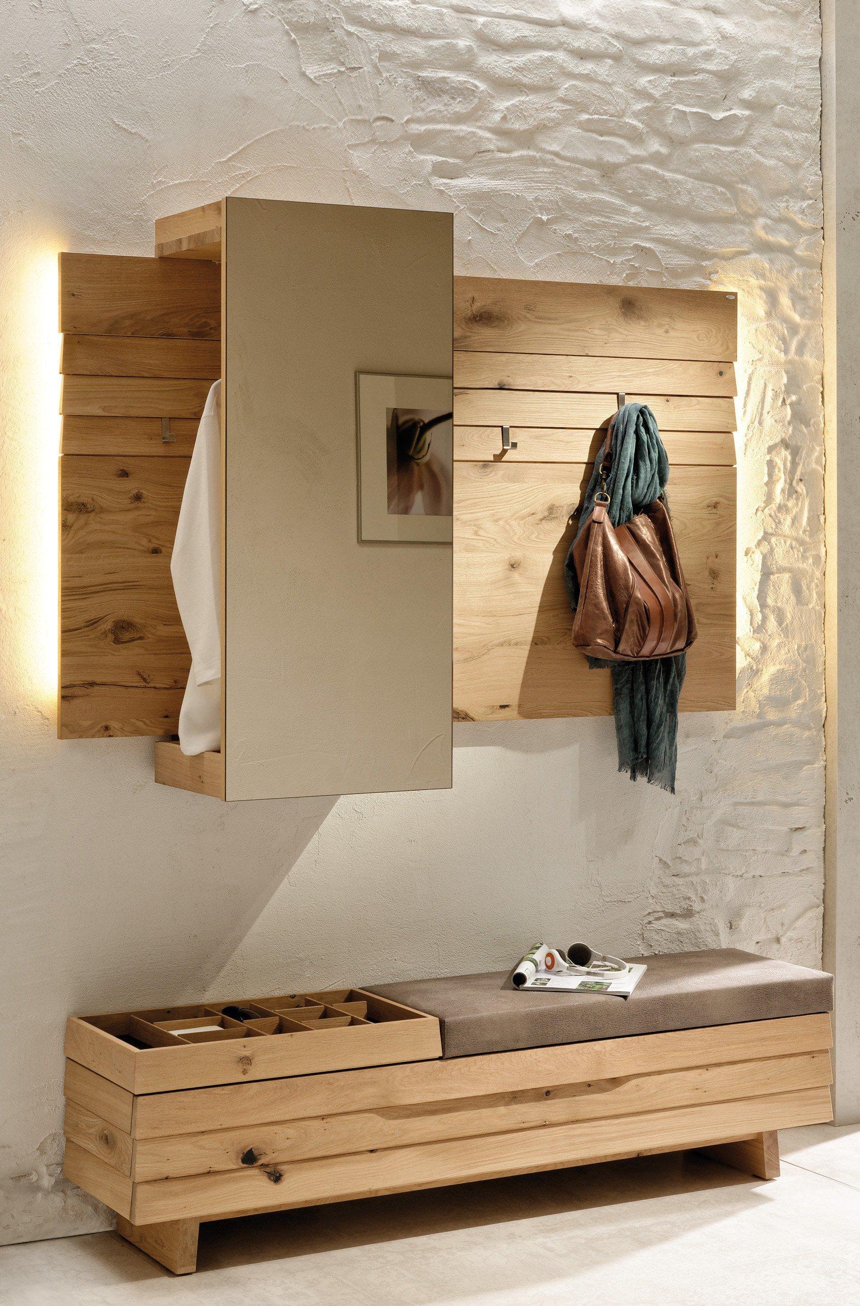 voglauer garderobe v organo orlinda aus wildeiche m bel letz ihr online shop. Black Bedroom Furniture Sets. Home Design Ideas