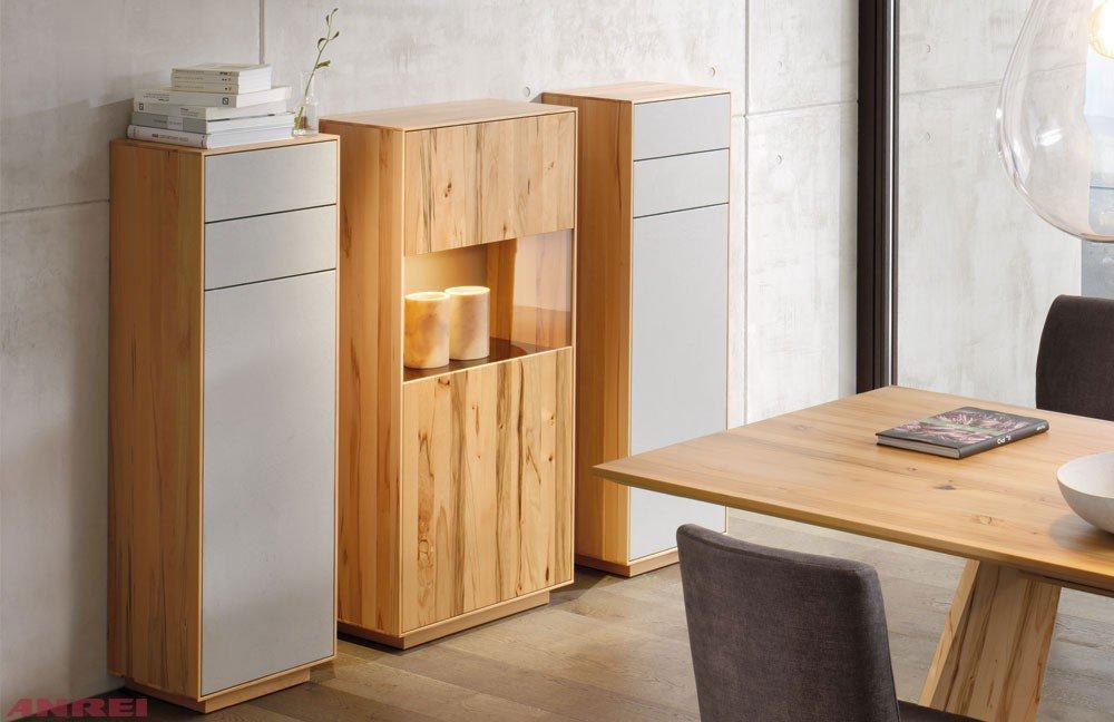 ANREI Highboard Puro Kernbuche von | Möbel Letz - Ihr Online-Shop