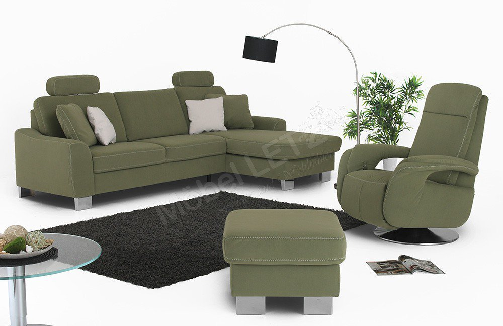 Zehdenick Stick S Ecksofa Smaragd Mobel Letz Ihr Online Shop