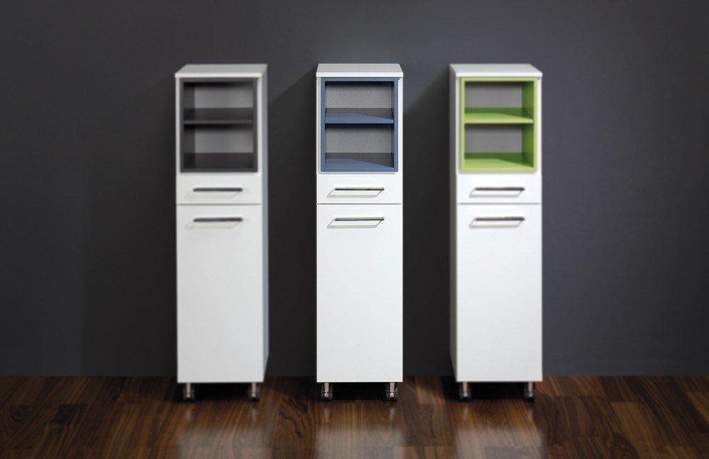 reinhard badezimmer rollenschrank maritim wei blau m bel letz ihr online shop. Black Bedroom Furniture Sets. Home Design Ideas