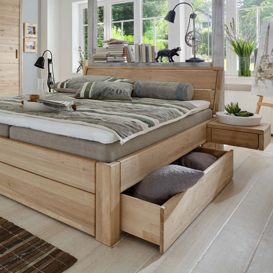 tj rnbo easy sleep boxspring massivholz m bel letz ihr online shop. Black Bedroom Furniture Sets. Home Design Ideas
