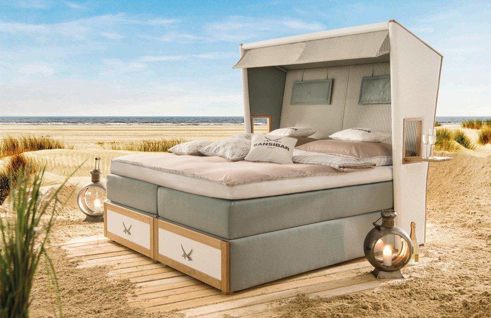 otten sansibar boxspringbett in strandkorb optik t rkis m bel letz ihr online shop. Black Bedroom Furniture Sets. Home Design Ideas