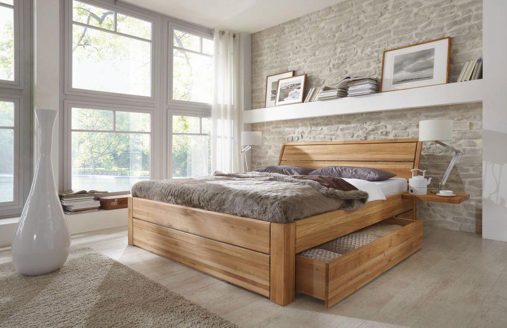 pure natur torge doppelbett eiche massiv m bel letz ihr online shop. Black Bedroom Furniture Sets. Home Design Ideas