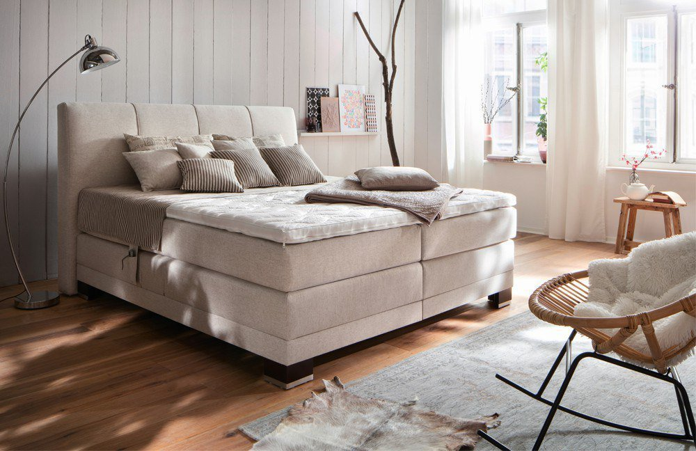 breckle boxspringbett avignon provence mit motor m bel letz ihr online shop. Black Bedroom Furniture Sets. Home Design Ideas