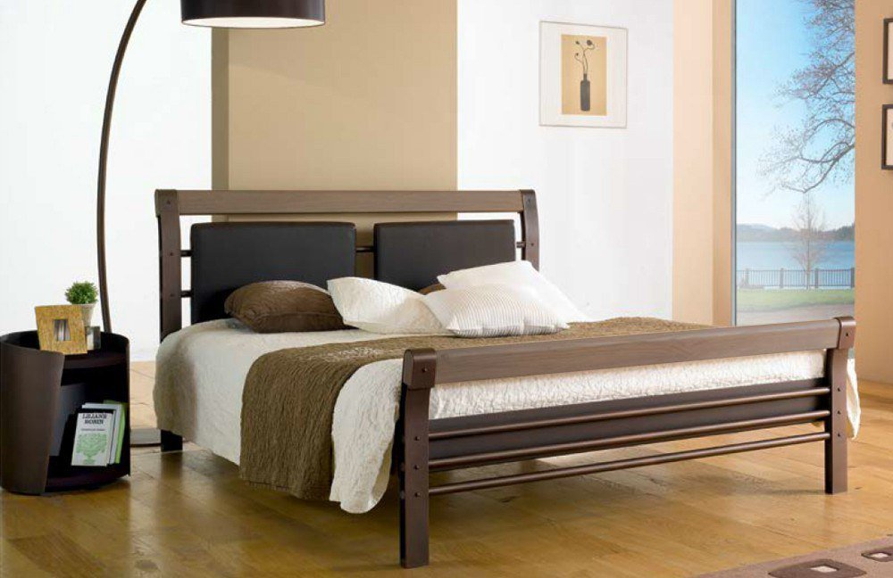 r sistub bilbao bett braun eiche grau m bel letz ihr online shop. Black Bedroom Furniture Sets. Home Design Ideas