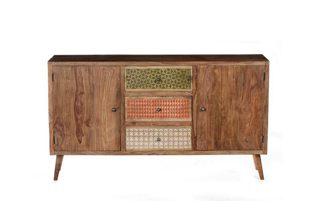 Designermöbel sideboard  SIT Möbel Sideboard Scandi Sheesham | Möbel Letz - Ihr Online-Shop