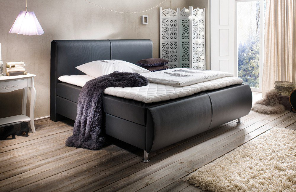 meise boxspringbett amadeo in schwarz m bel letz ihr online shop. Black Bedroom Furniture Sets. Home Design Ideas