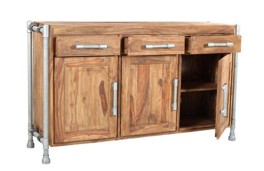 sit m bel sideboard tube sheesham wasserrohre m bel letz ihr online shop. Black Bedroom Furniture Sets. Home Design Ideas