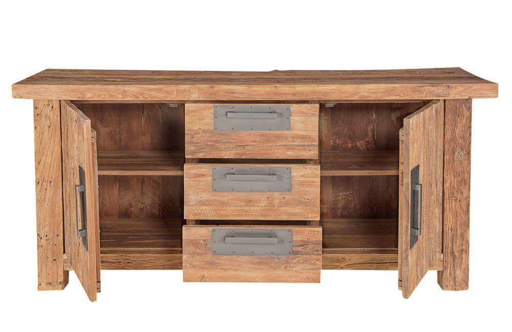 sit m bel sideboard coral recyceltes teakholz m bel letz ihr online shop. Black Bedroom Furniture Sets. Home Design Ideas