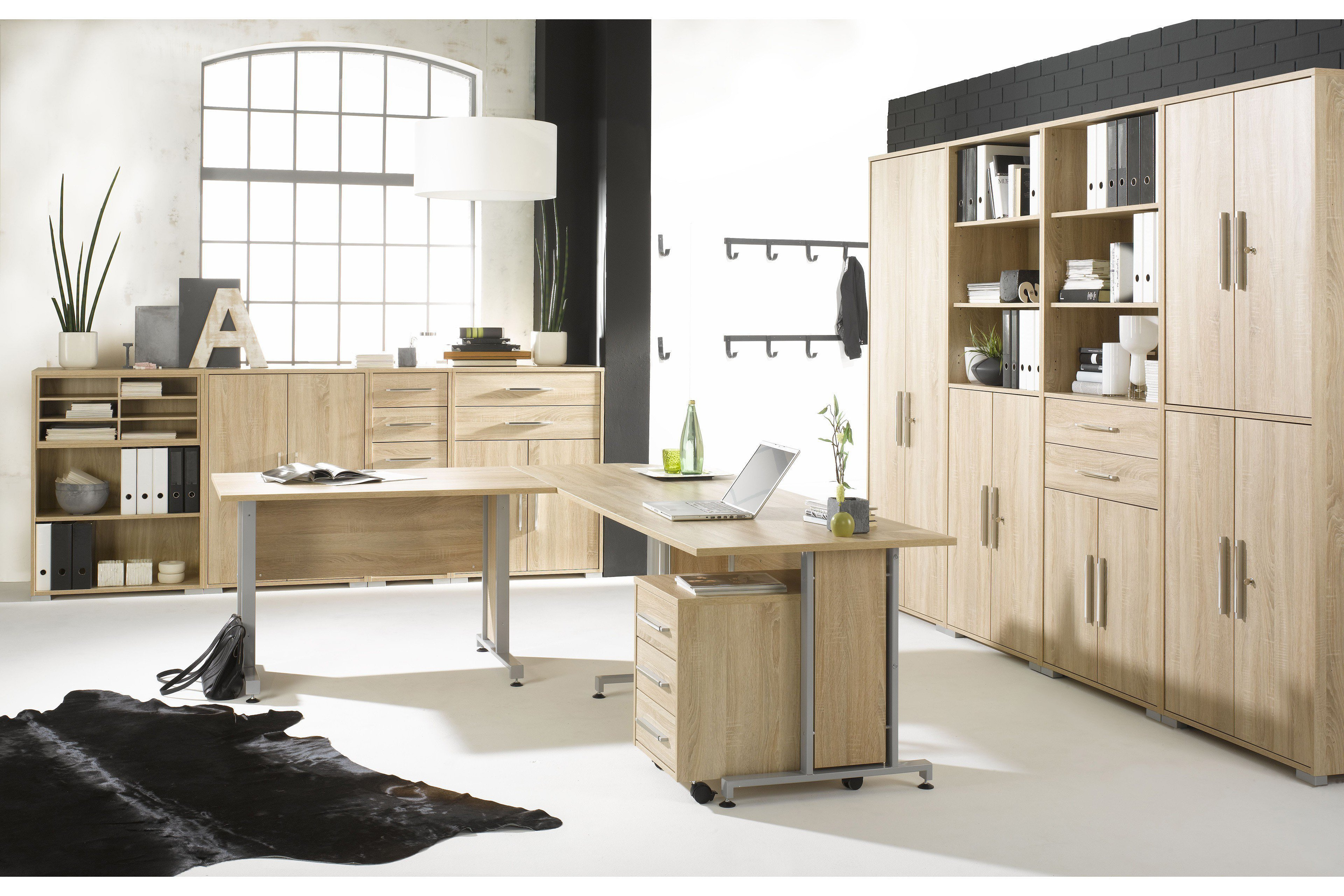 Maja Möbel Bürol System Komplettset | Möbel Letz - Ihr Online-Shop