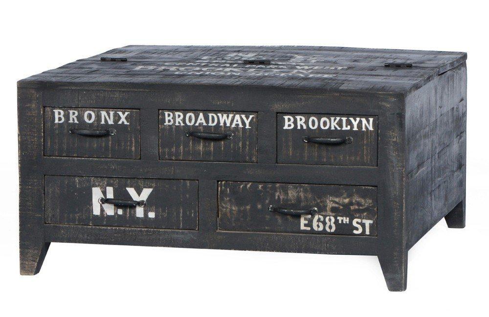 Couchtisch antik schwarz  SIT Couchtisch Bronx 4294-11 | Möbel Letz - Ihr Online-Shop