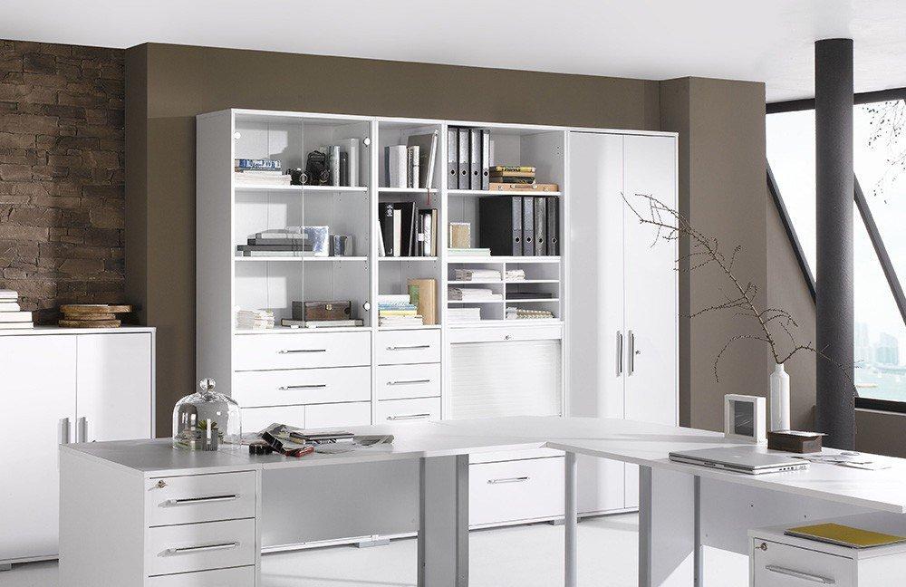 maja b rom bel system komplettset wei m bel letz ihr online shop. Black Bedroom Furniture Sets. Home Design Ideas