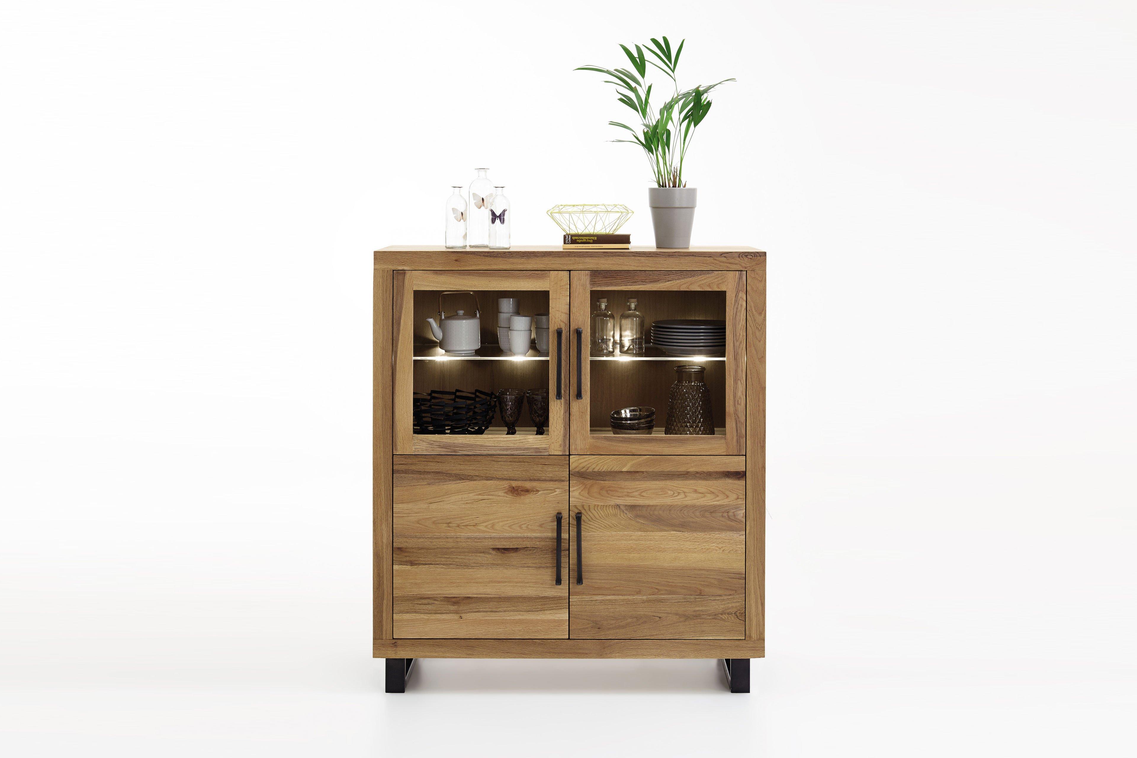 highboard jorik von pure natur m bel letz ihr online shop. Black Bedroom Furniture Sets. Home Design Ideas