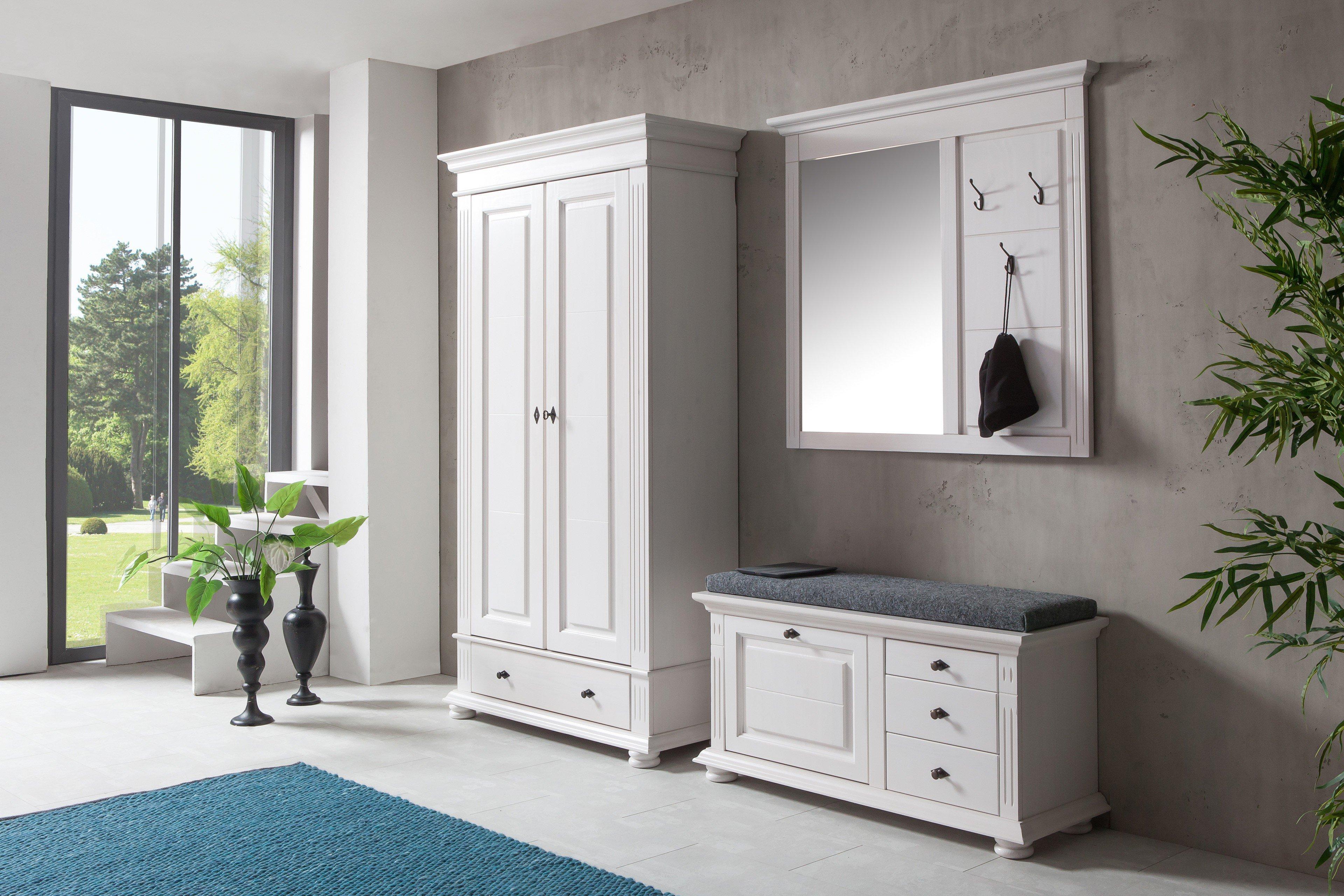 bfk m bel leona garderobe in astfichte m bel letz ihr online shop. Black Bedroom Furniture Sets. Home Design Ideas
