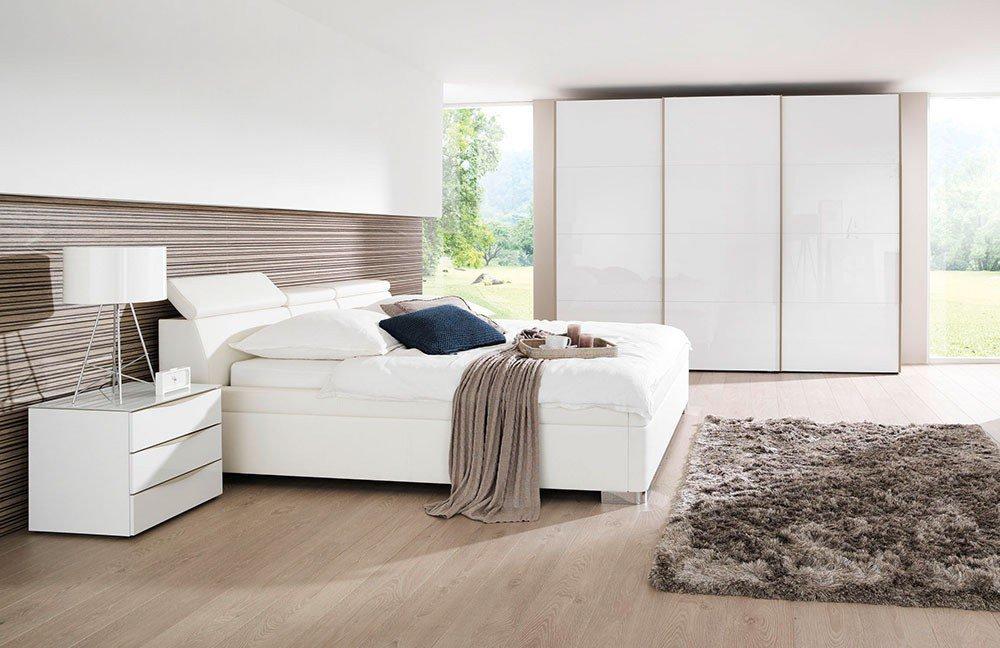 Welle Mood & Master Bedroom Schlafzimmer weiß | Möbel Letz - Ihr ...