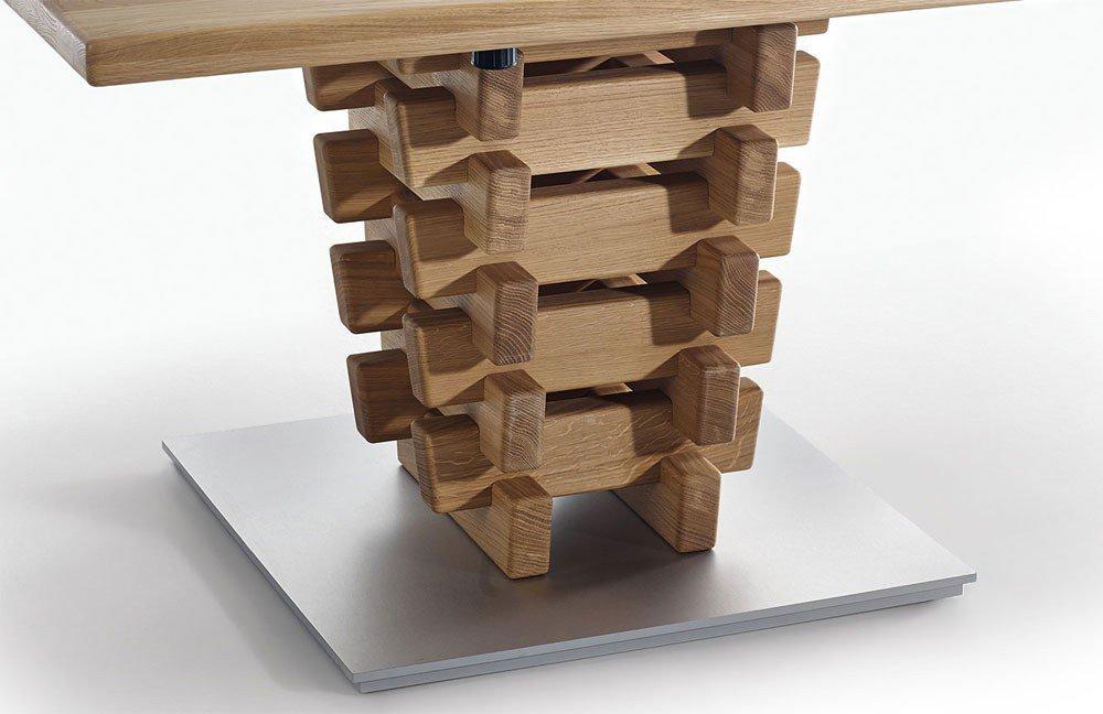 esstisch k w polsterm bel 5093 wildeiche bianco m bel. Black Bedroom Furniture Sets. Home Design Ideas