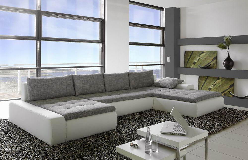 wohnlandschaft panamera wei grau von jockenh fer m bel. Black Bedroom Furniture Sets. Home Design Ideas