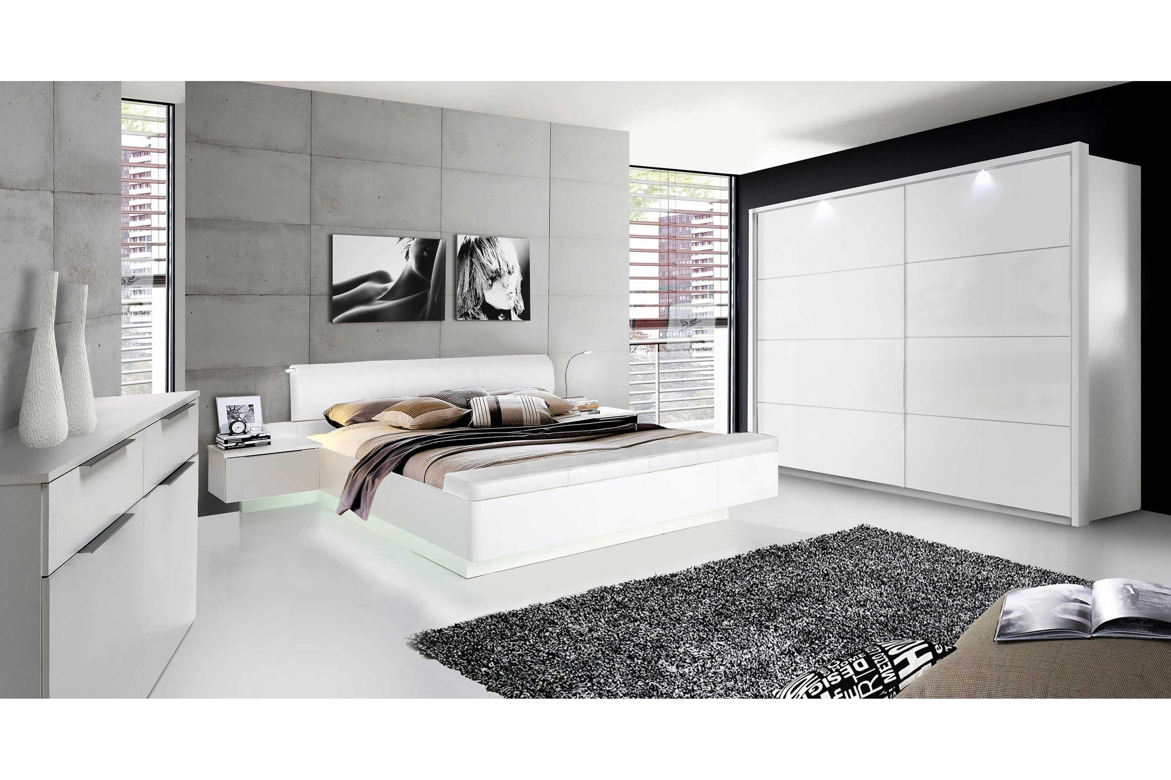 Gut Starlet Plus Von Forte   Komplett Schlafzimmer Weiß
