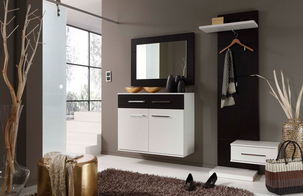 prenneis garderobe estoril plus picton wei pinie baun m bel letz ihr online shop. Black Bedroom Furniture Sets. Home Design Ideas
