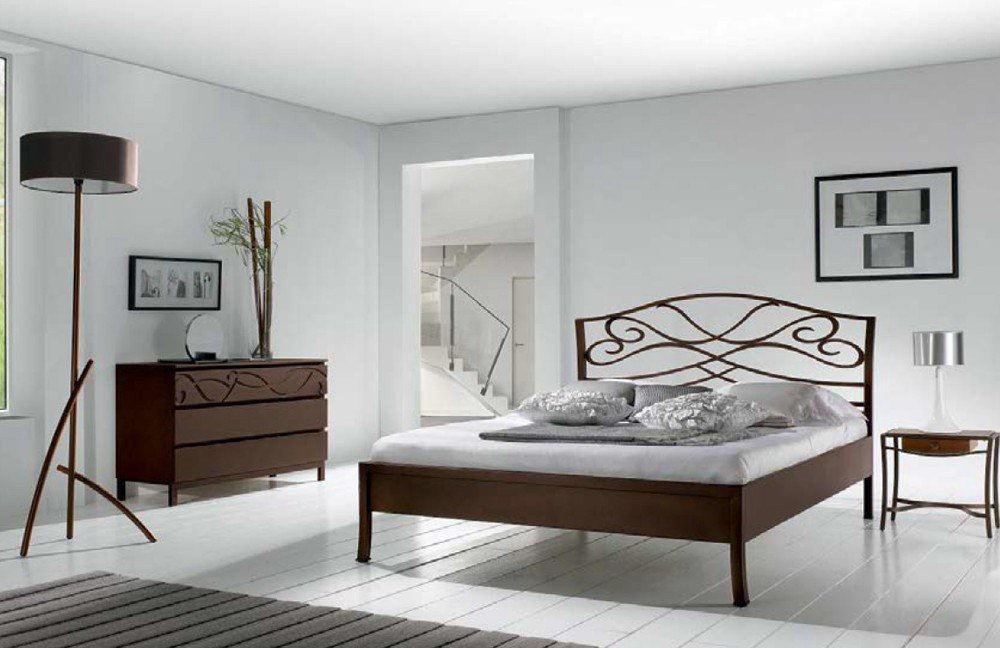r sistub tosca metallbett braun lackiert m bel letz ihr online shop. Black Bedroom Furniture Sets. Home Design Ideas