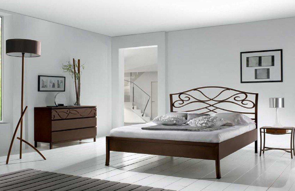 r sistub tosca metallbett braun lackiert m bel letz. Black Bedroom Furniture Sets. Home Design Ideas