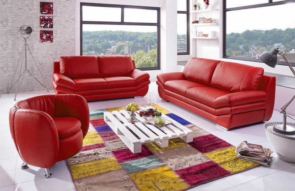 Cotta Nardo Polstergruppe In Rot Möbel Letz Ihr Online Shop